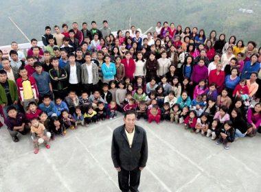 39 ഭാര്യമാരും 94 മക്കളും! ലോകത്തിലെ ഏറ്റവും വലിയ കുടുംബം മിസോറാമിലെ ഒരു ഗ്രാമത്തിൽ